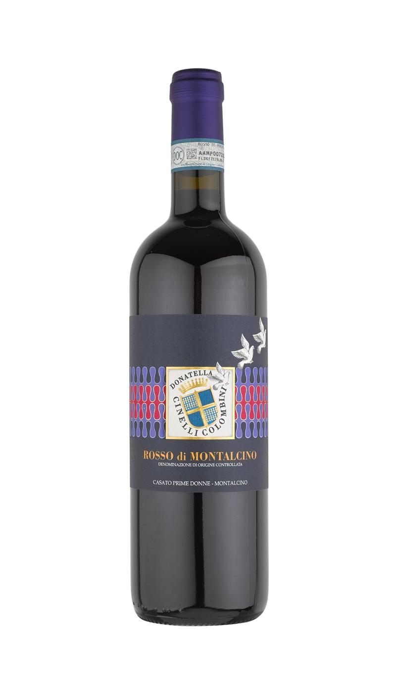 bottle of rosso di Montalcino