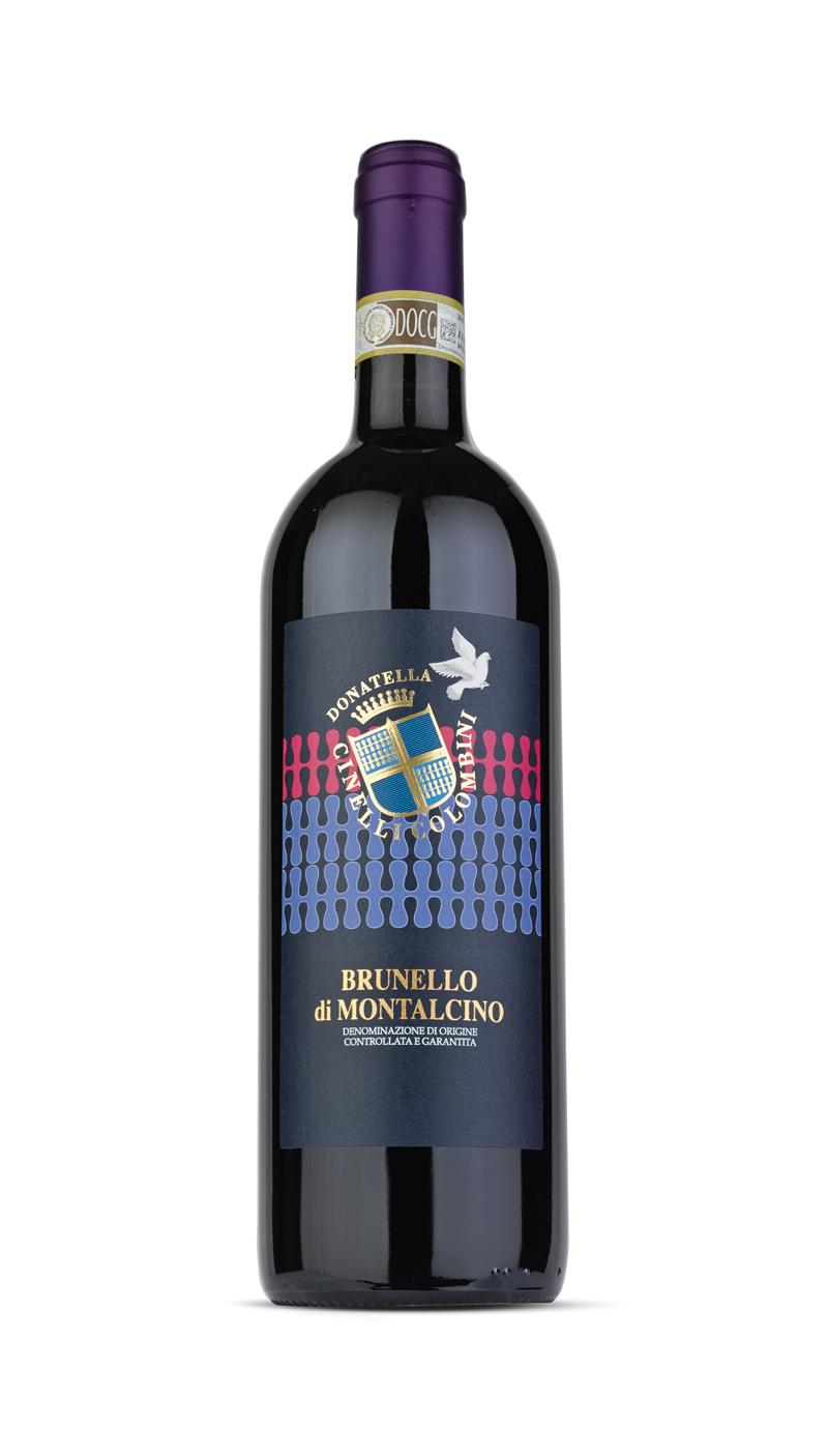 bottle of brunello di Montalcino