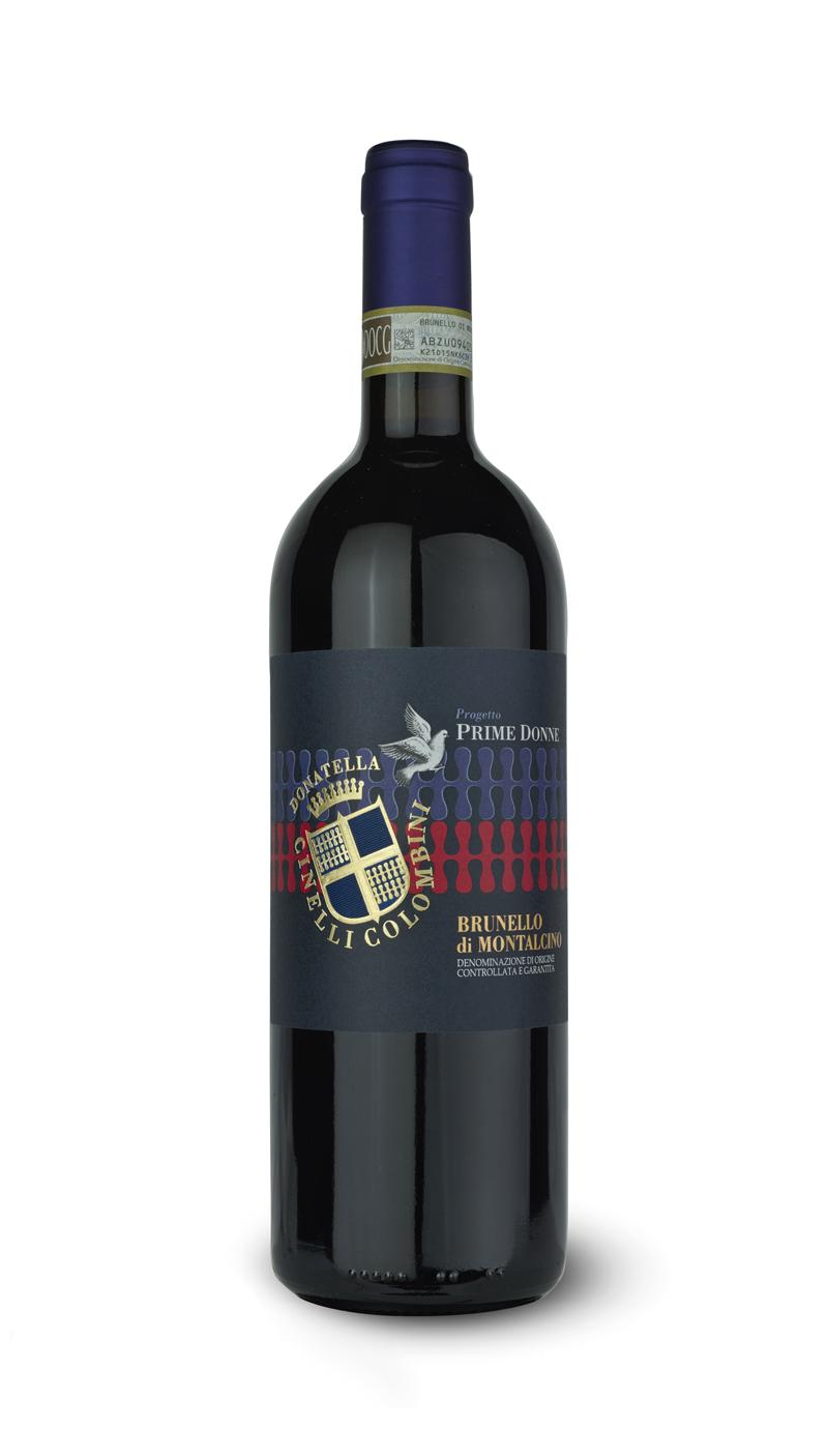 bottiglia di Brunello di Montalcino Prime Donne