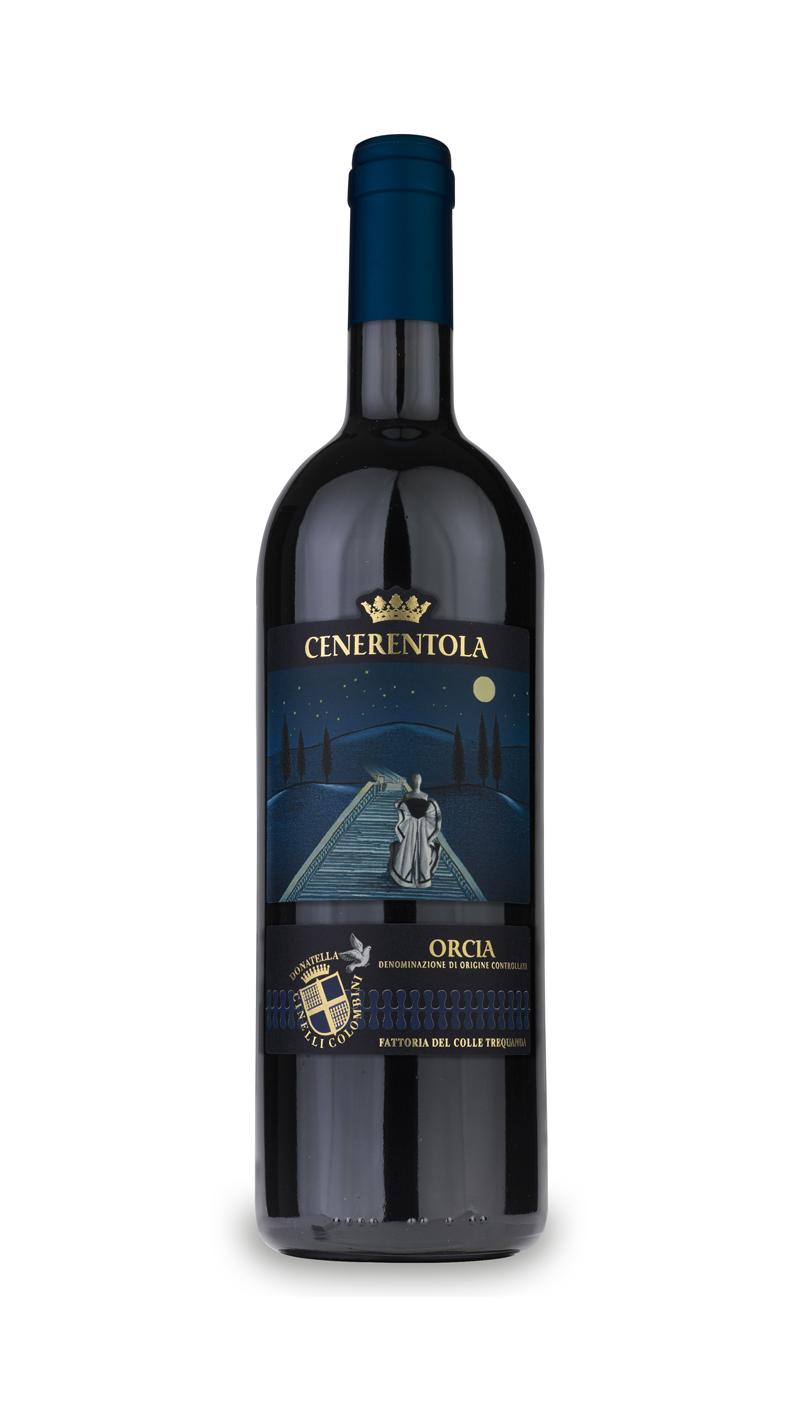 bottiglia di vino Cenerentola Orcia DOC