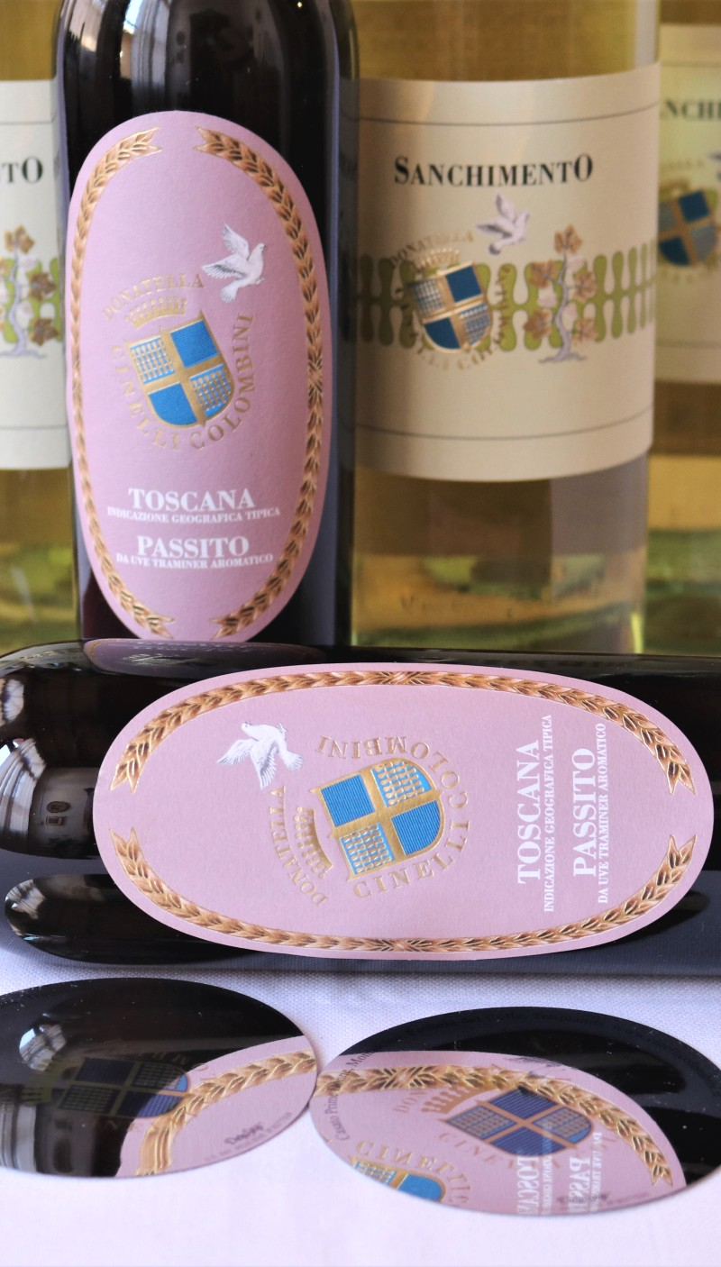 Sanchimento IGT Toscana bianco 2020 e Passito 2017