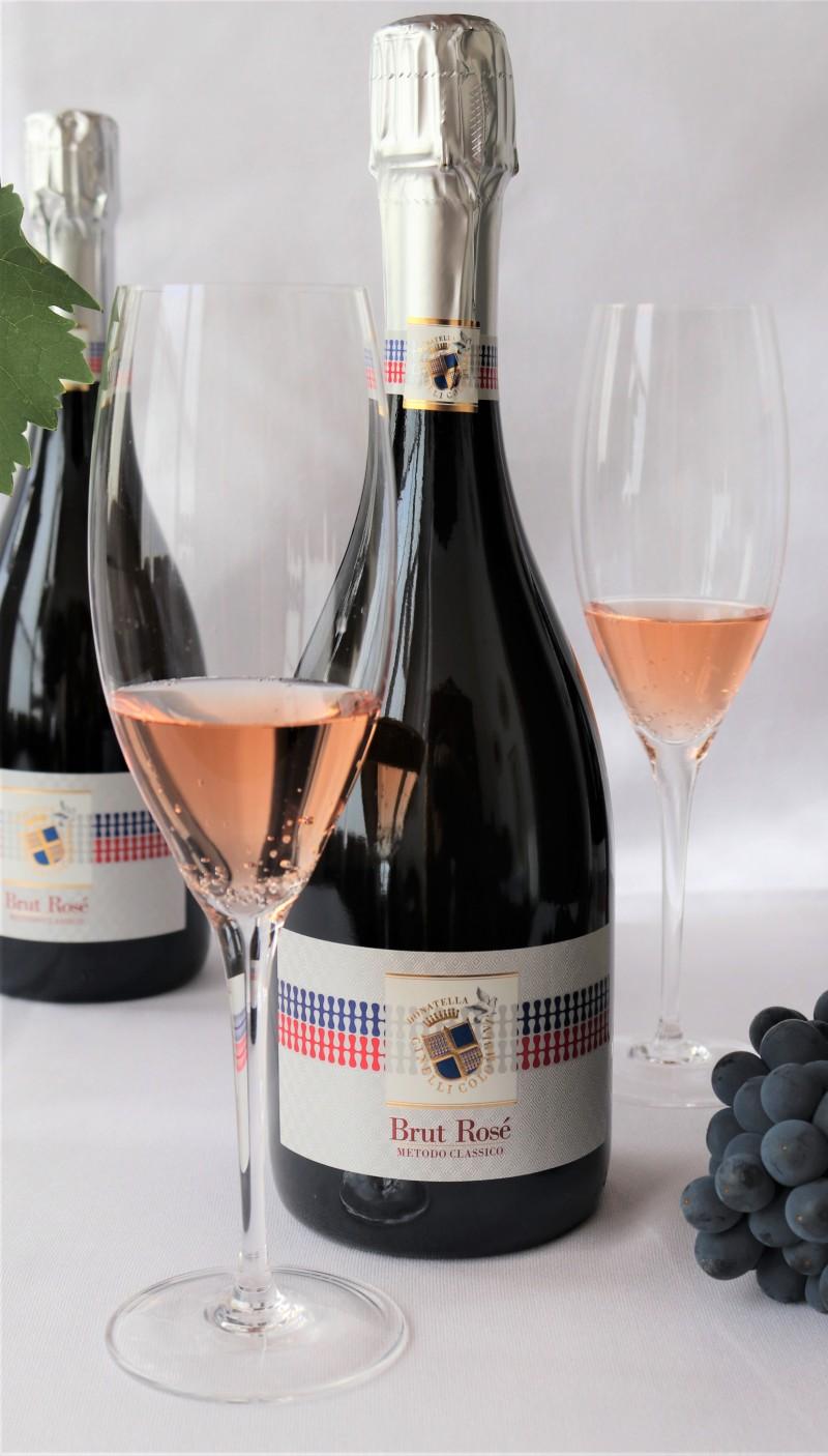 Spumante Rosé Brut Metodo Classico (annata 2018)